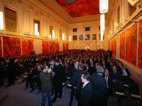 Die Redoutensäle der Wiener Hofburg waren ein festlicher Rahmen für das Finale des Wettbewerbes.