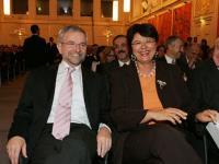 Vizekanzler und Finanzminister Mag. Willhelm Molterer und Wiens Vizebürgermeisterin Mag. Renate Brauner.
