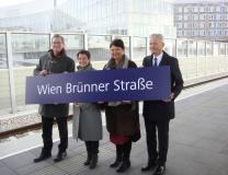 Eröffnung Haltestelle Wien Brünner Straße